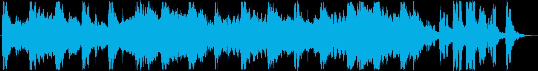 クラシカルなシンセサウンド短めの再生済みの波形