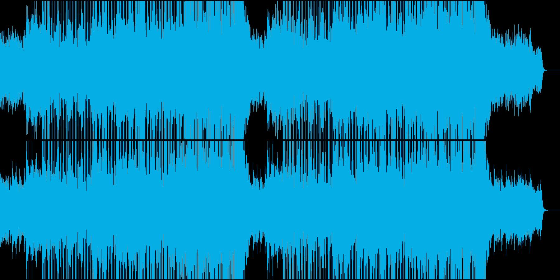 使命感を持った企業紹介用オーケストラの再生済みの波形