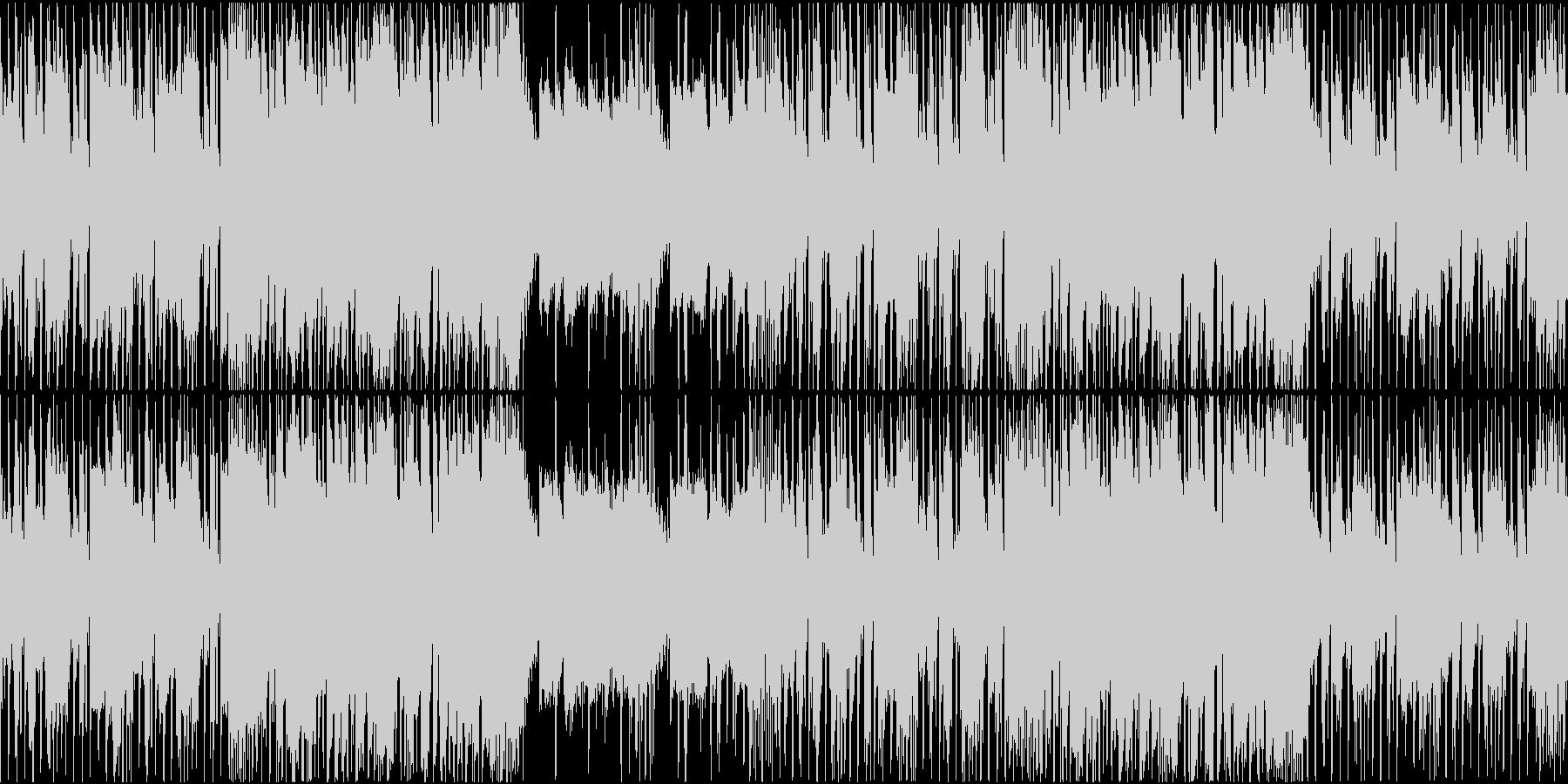 穏やかで軽快なジャズヒップホップインストの未再生の波形