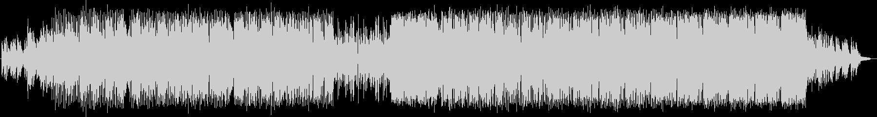 House-Popの未再生の波形