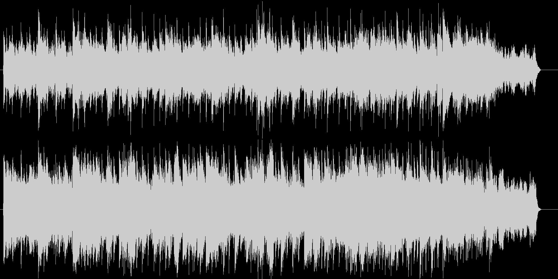 ブライダル向けのしっとりしたピアノBGMの未再生の波形
