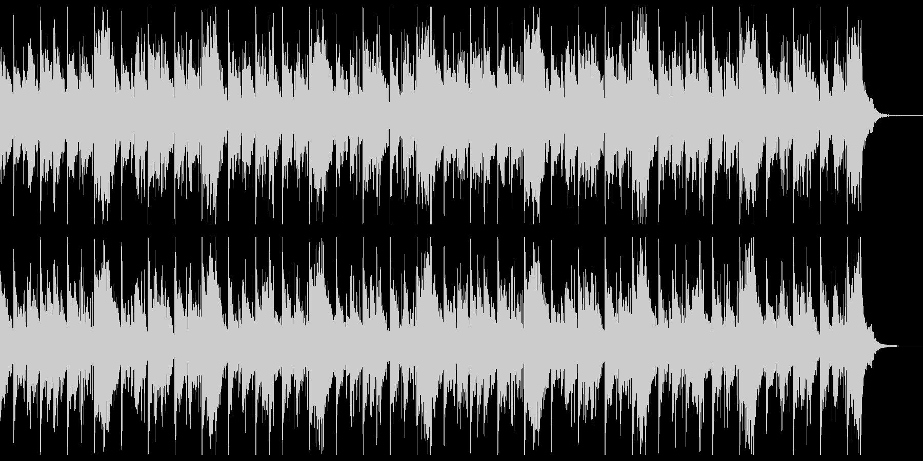 低音ピアノがズンズン迫りくるホラー風の未再生の波形