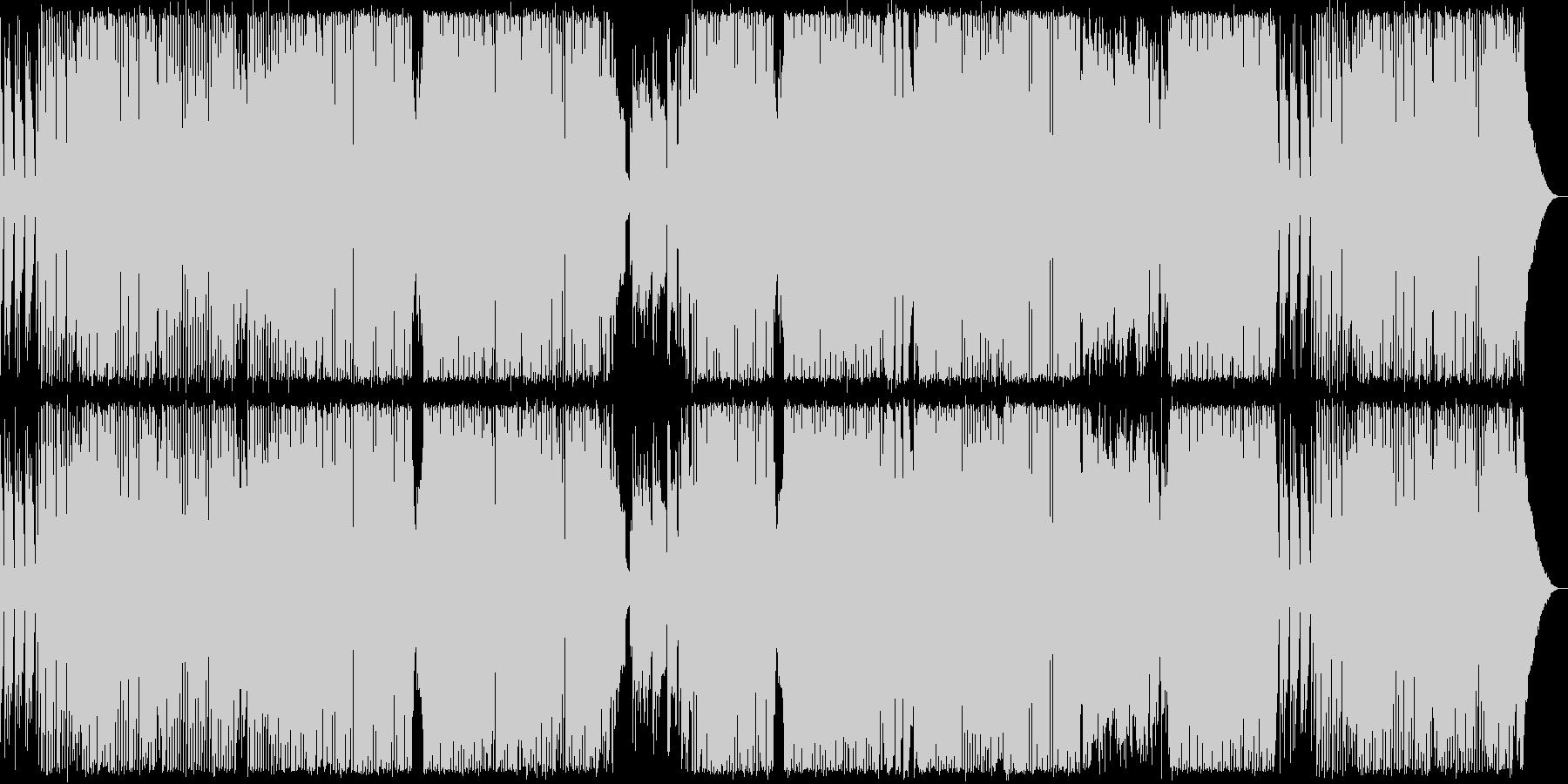 bpm137 デジタルロックの未再生の波形