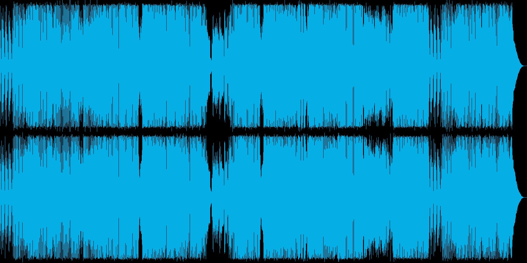 bpm137 デジタルロックの再生済みの波形