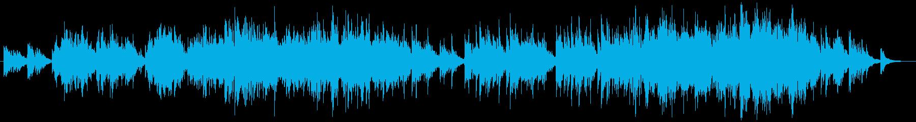 二胡の生演奏による切なくゆったりした曲の再生済みの波形
