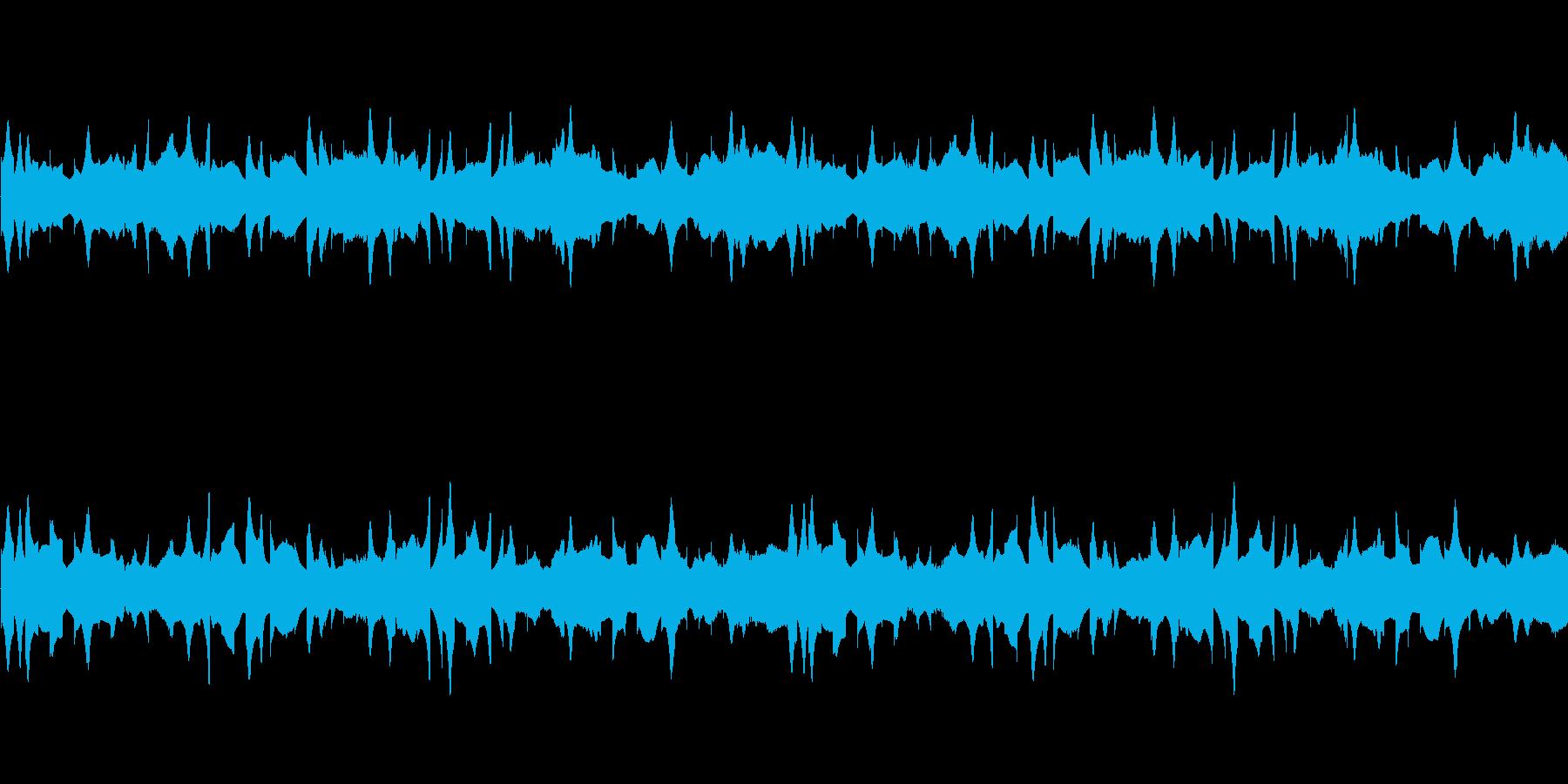 【宇宙との交信】の再生済みの波形