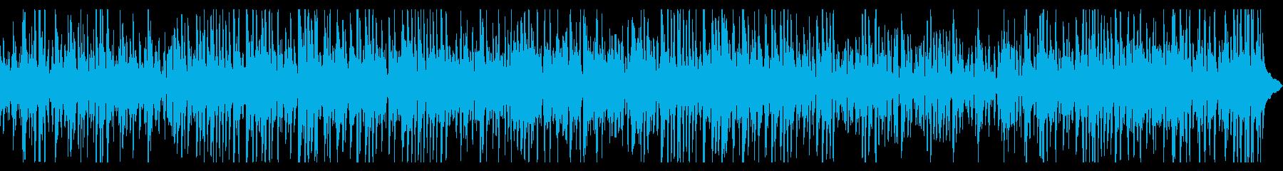ミディアムなスロウジャズバンドの再生済みの波形