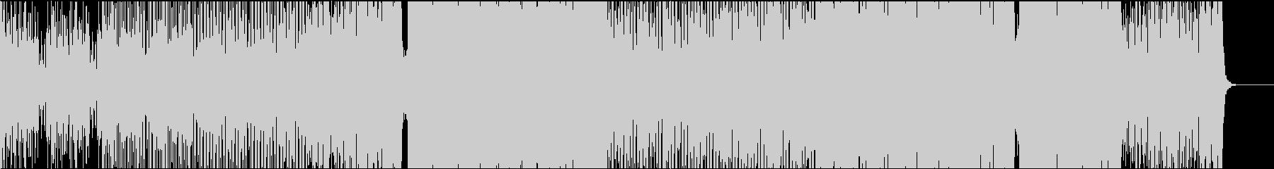 和太鼓を取り入れた和風メタル・トランスの未再生の波形
