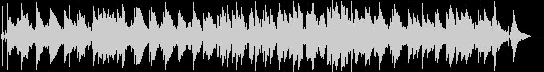 脱力感のあるシンセサイザーサウンドの未再生の波形