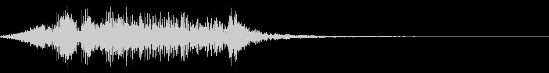 ギギィ~…軋む音 2の未再生の波形
