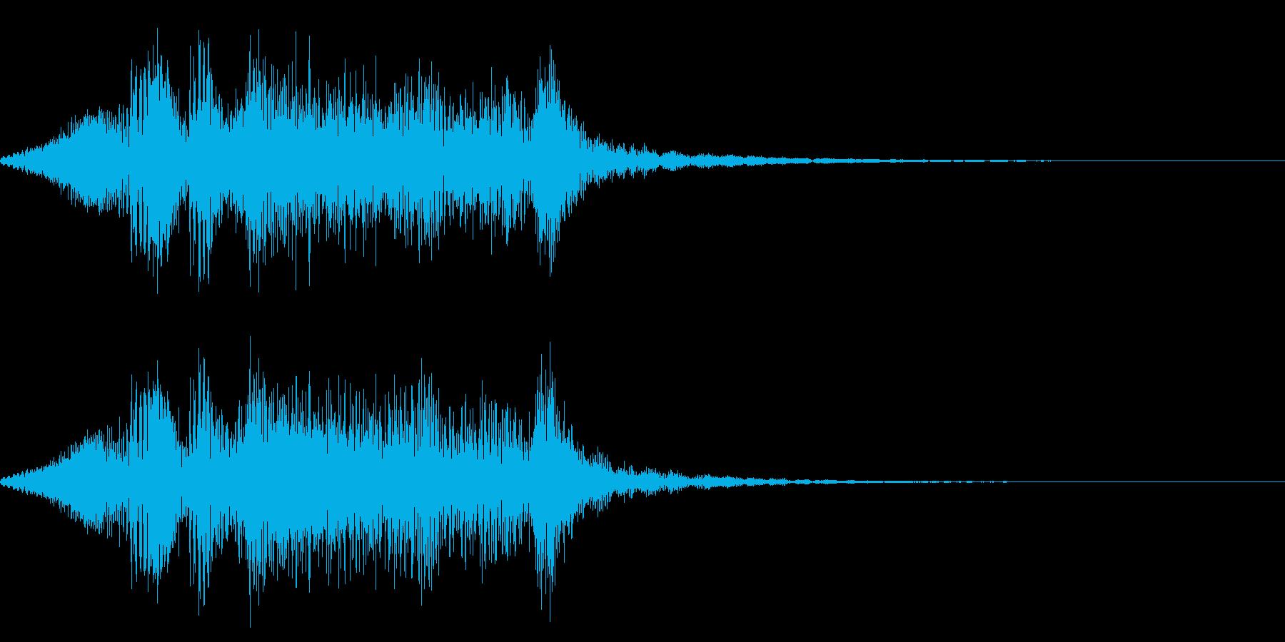 ギギィ~…軋む音 2の再生済みの波形