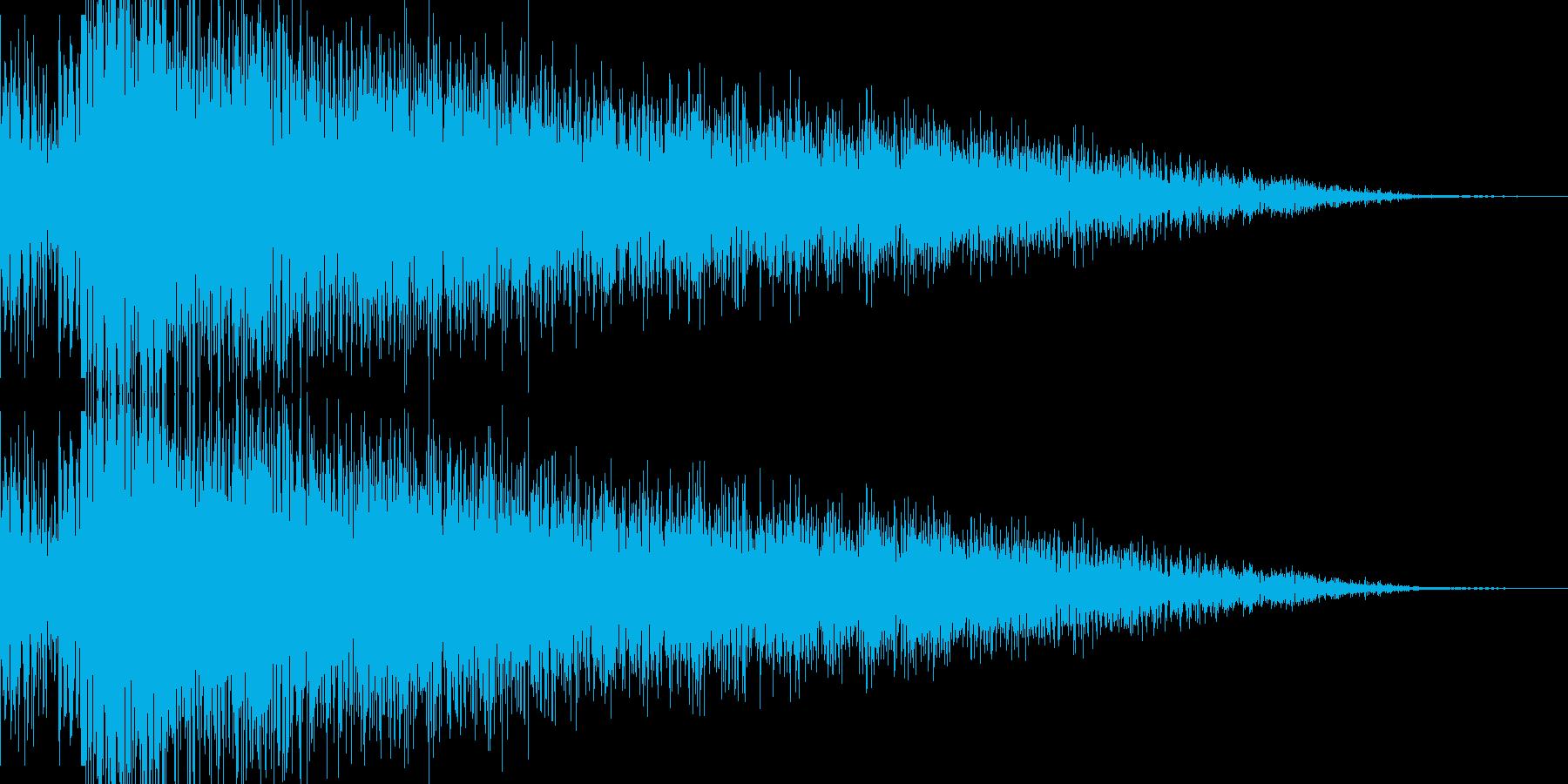 ビームライフル発射音 タイプ5の再生済みの波形