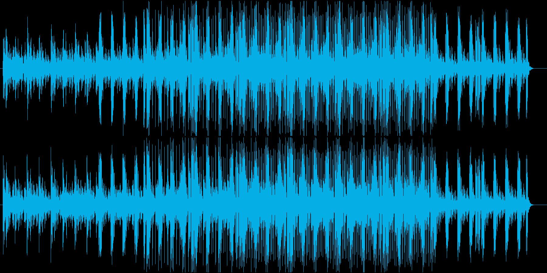 リードギターとピアノで奏でるヒーリングの再生済みの波形