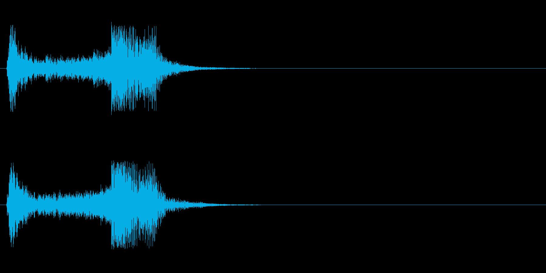 恐怖・ホラー・サスペンス系のストリングスの再生済みの波形