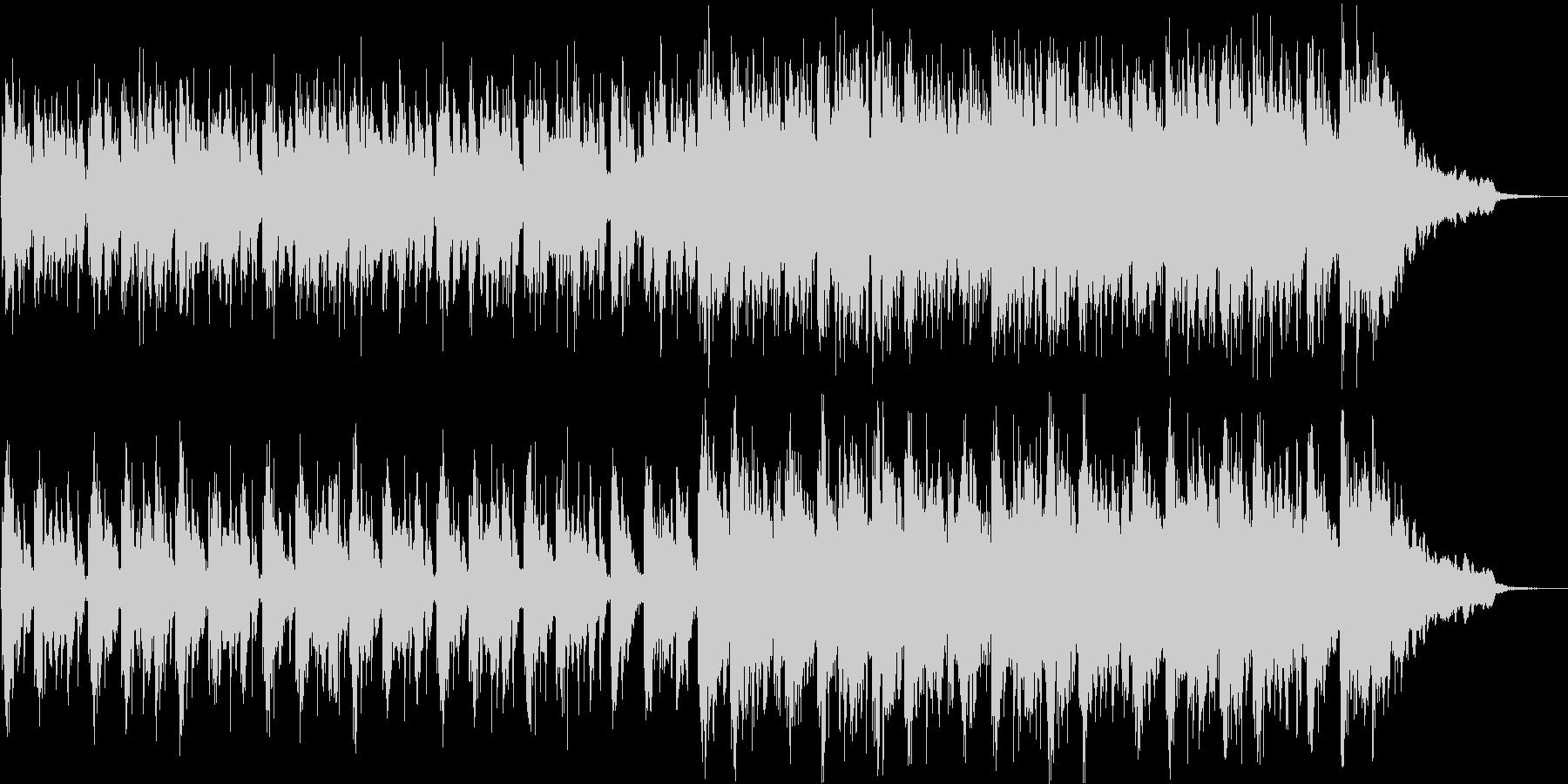 不思議な子供の声を使ったオシャレなBGMの未再生の波形