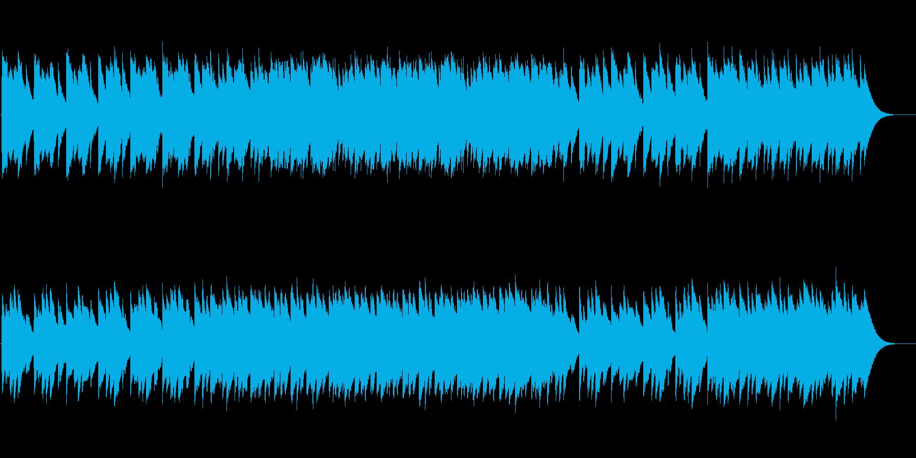 <オルゴール>涼しげでテンポよく柔らかくの再生済みの波形