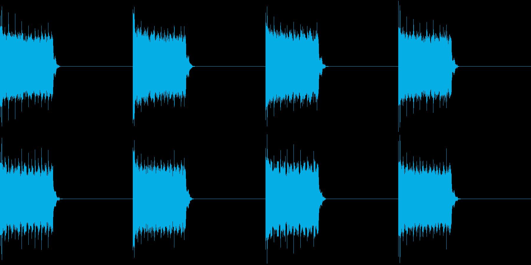 電話 スマホ 携帯電話 着信音 デジタルの再生済みの波形