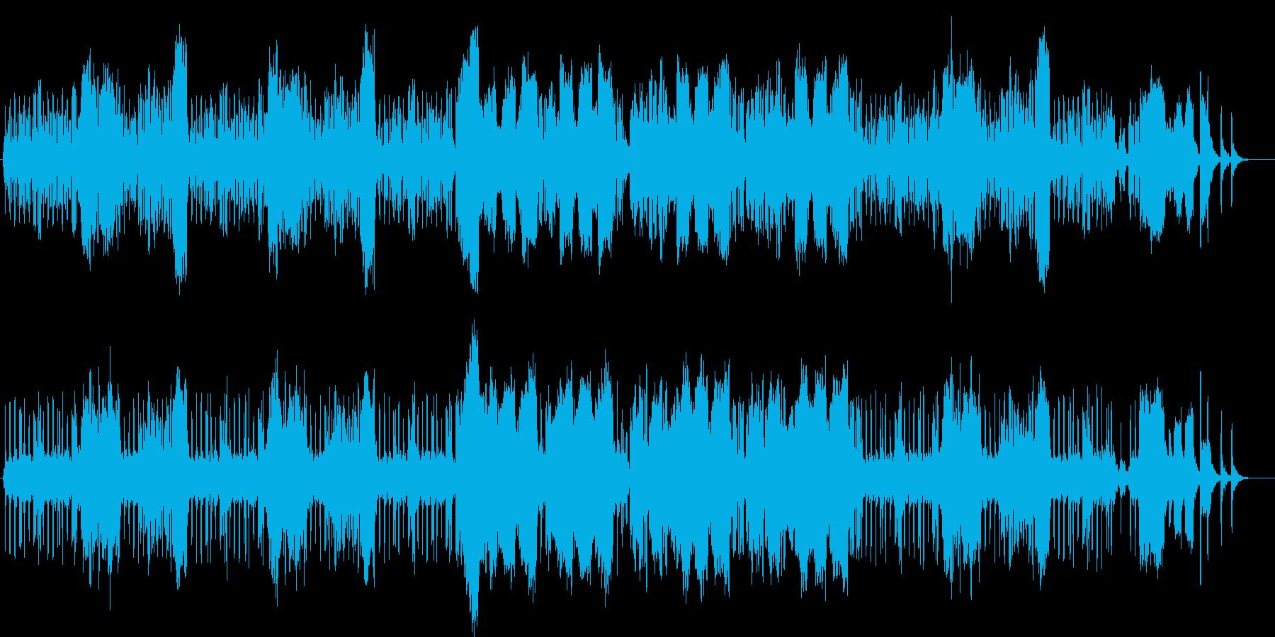 春をイメージした軽やかな木管四重奏曲ですの再生済みの波形