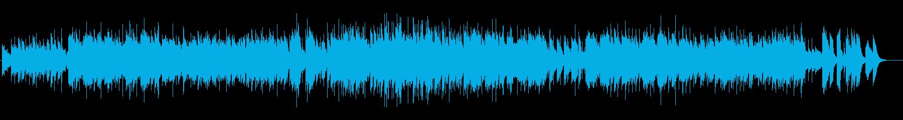 マリンバによるブルータンゴ風タンゴの再生済みの波形