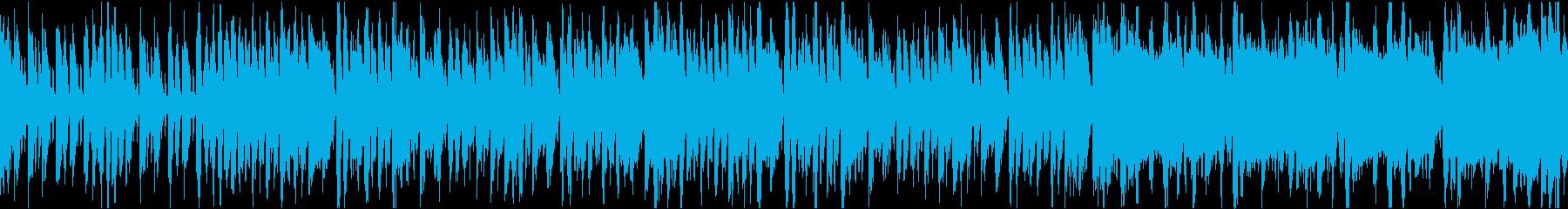 明るい陽気なブラスバンド/ループ可の再生済みの波形