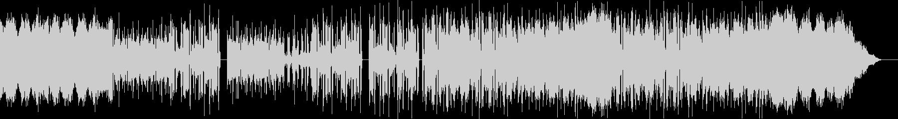 FM音源風フィールド系BGMの未再生の波形