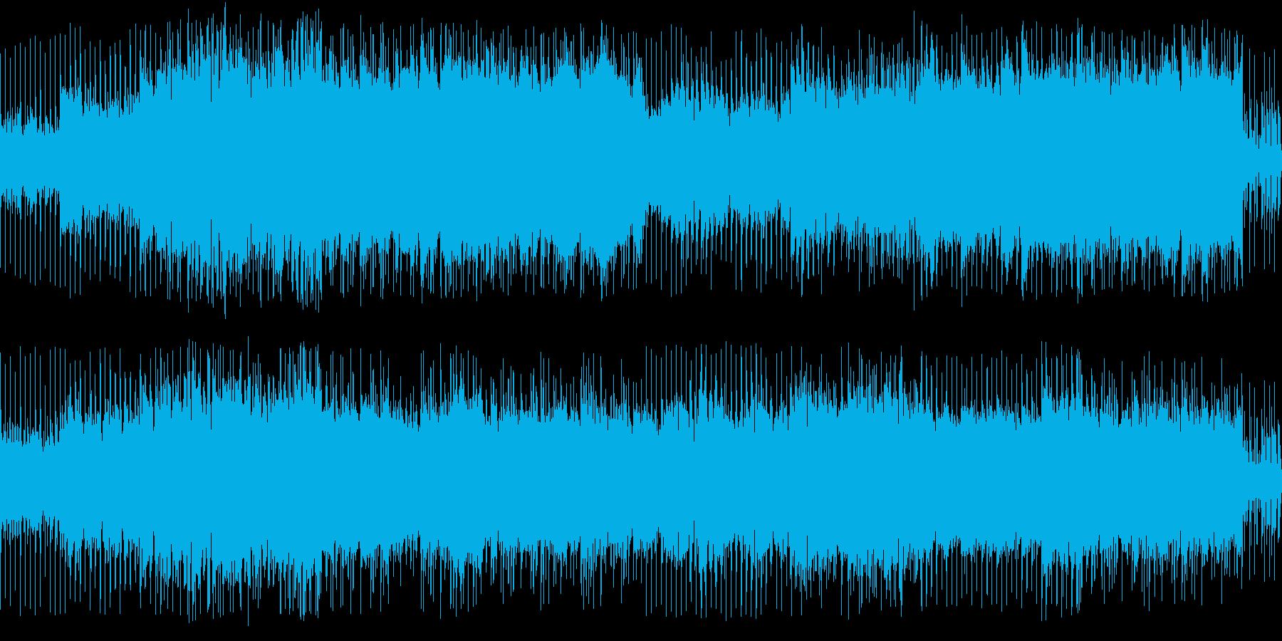 ポップロック①爽快感/浮遊感【ループ】の再生済みの波形