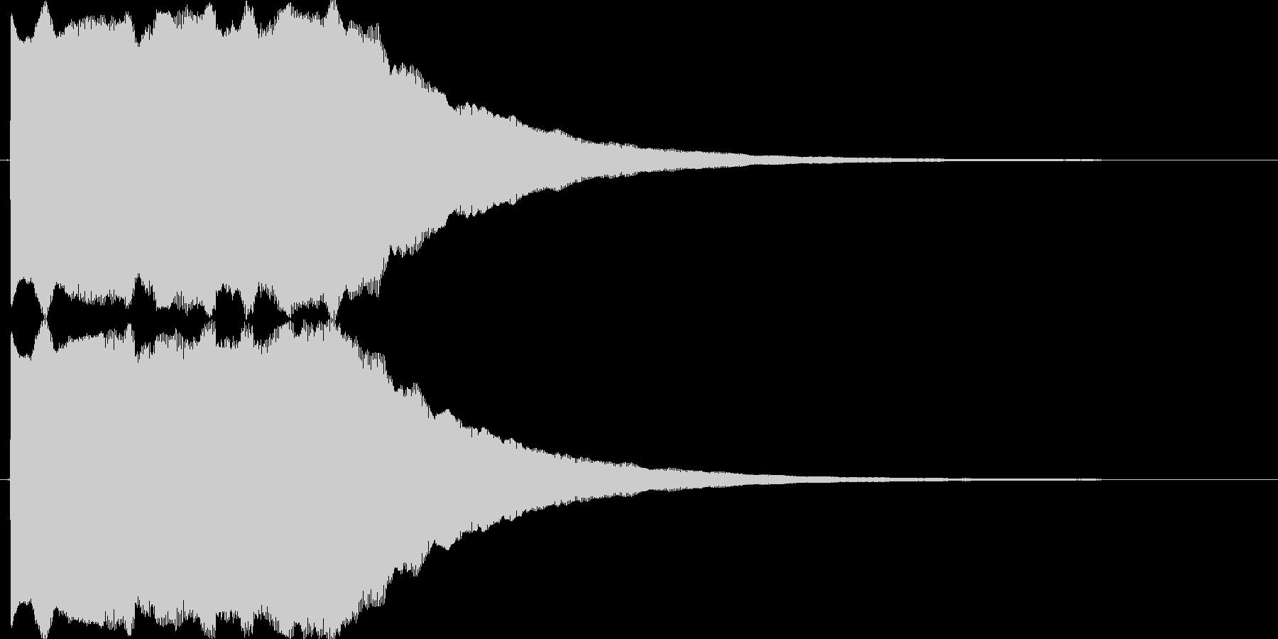 ピンポン(正解音_連続)の未再生の波形