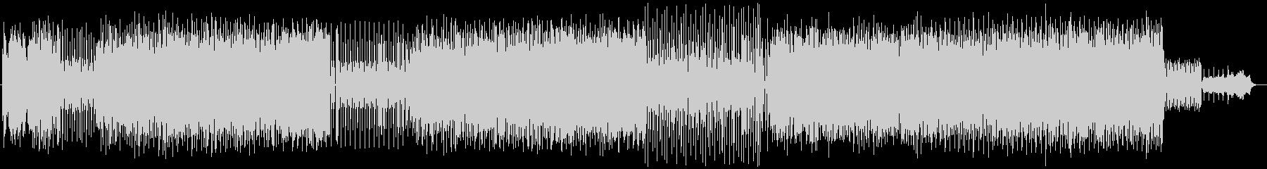 シンセサイザーによるかわいらしいポップスの未再生の波形