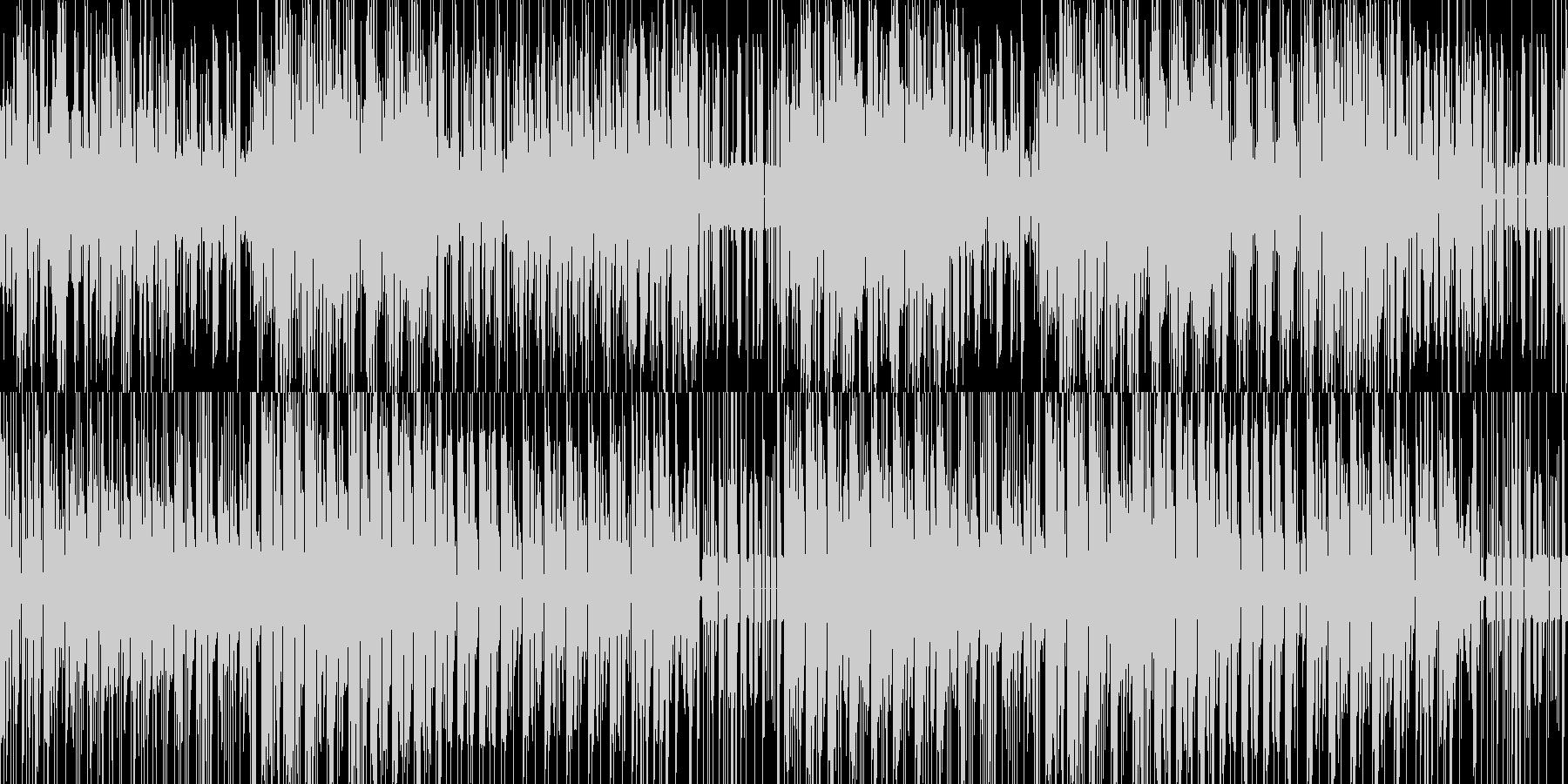 変拍子で壊れた時計のようなニカの未再生の波形