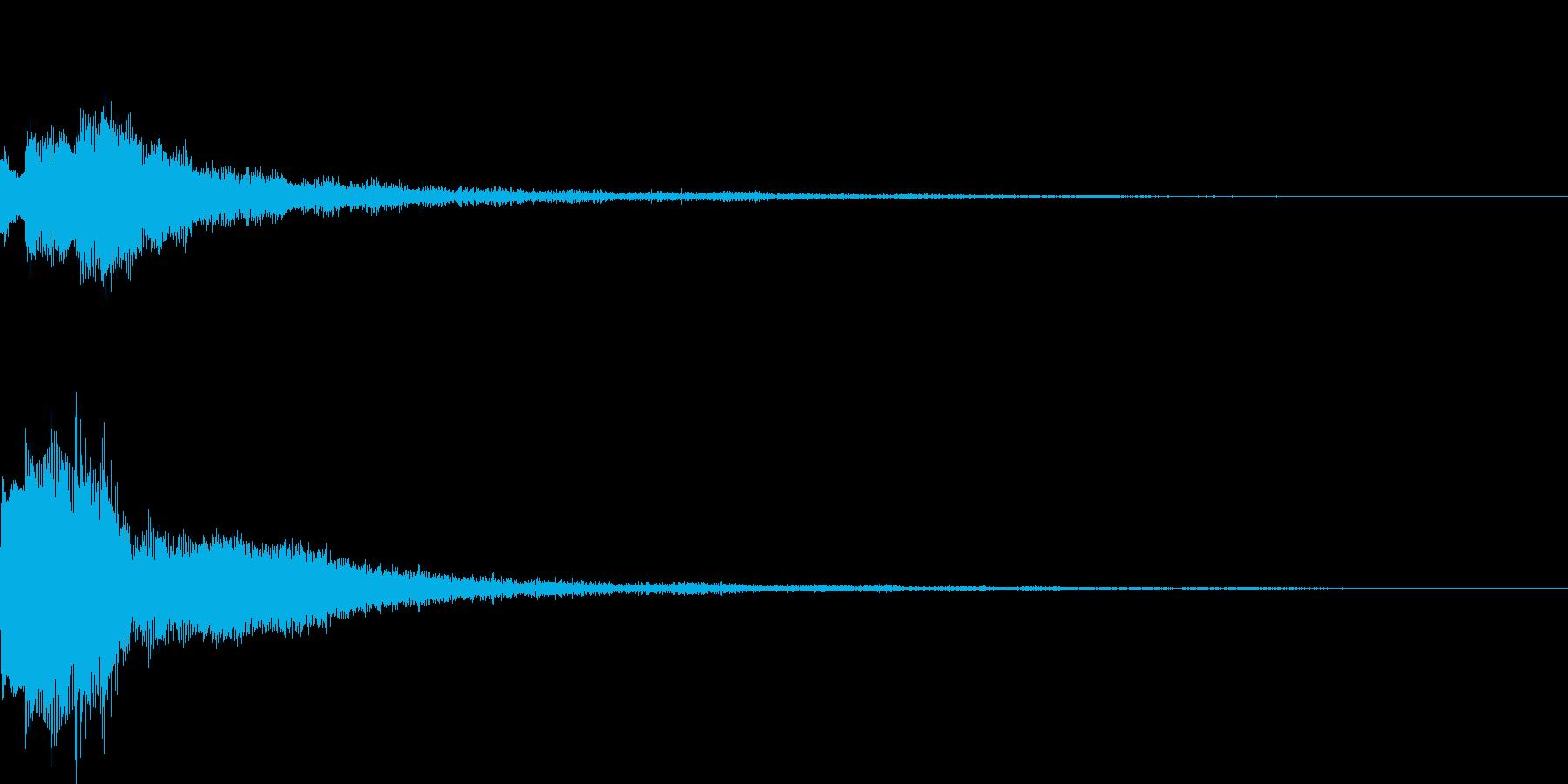 キーアイテム発見・違和感時の再生済みの波形