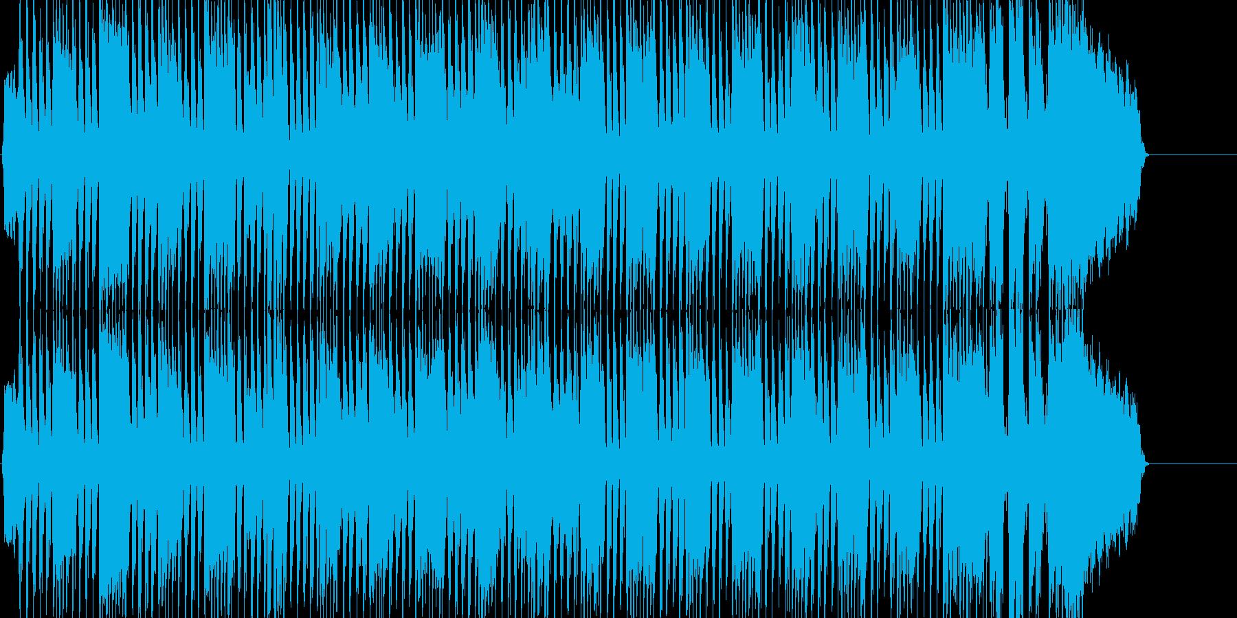 ヘビーロック 悠々 堂々 ブリティッシュの再生済みの波形