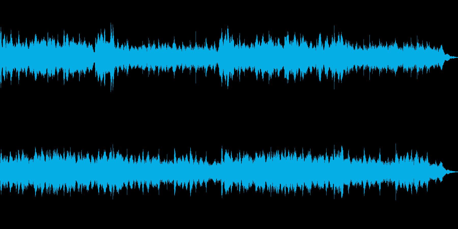 ループ 夏の夜 アンビエント風の再生済みの波形
