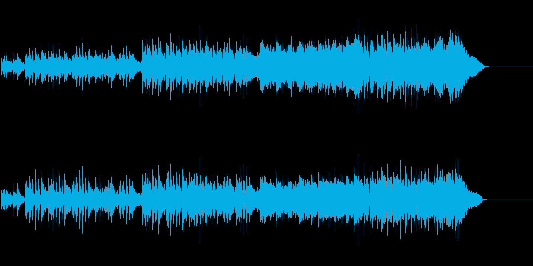 エレガントなボサノバ調アコースティックの再生済みの波形