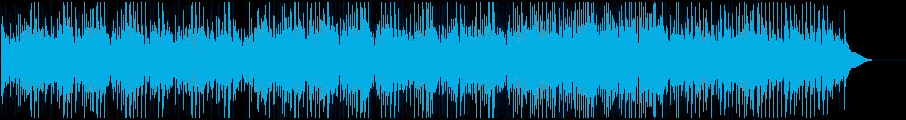 CMや映像にウクレレ 南国でのんびり像の再生済みの波形