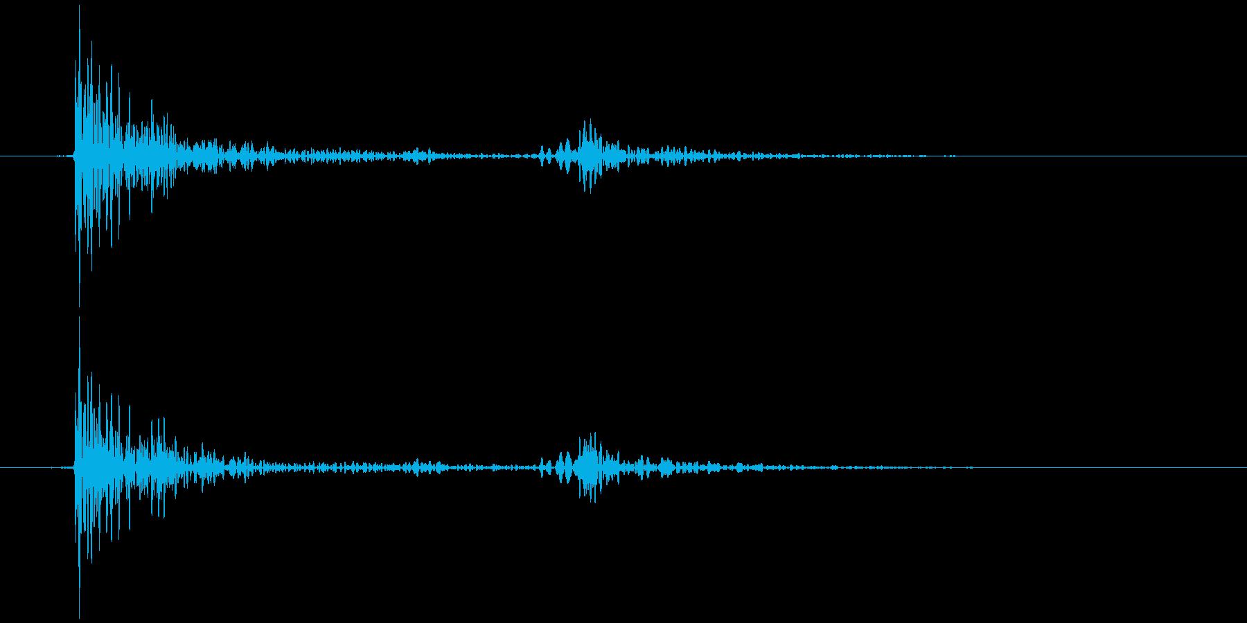 鍋のふた開くOR閉める C (カコン)の再生済みの波形