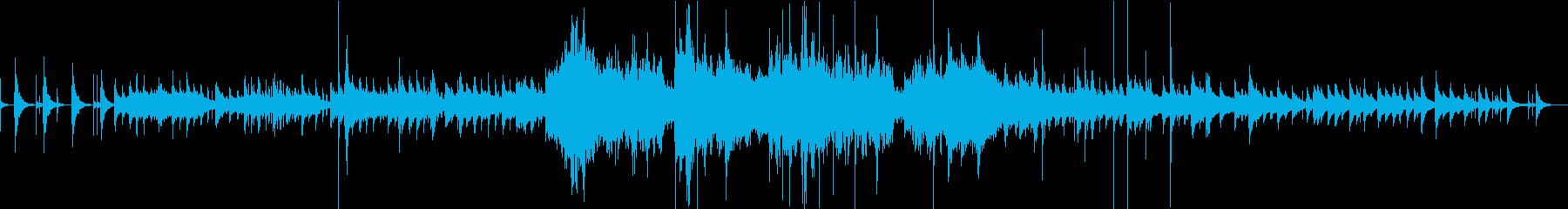 尺八と三味線の和風バラード。の再生済みの波形