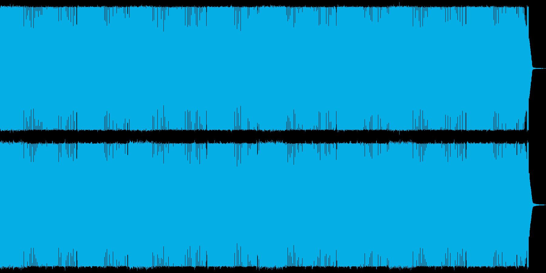 疾走感のあるヘビーメタル 戦闘シーン向けの再生済みの波形
