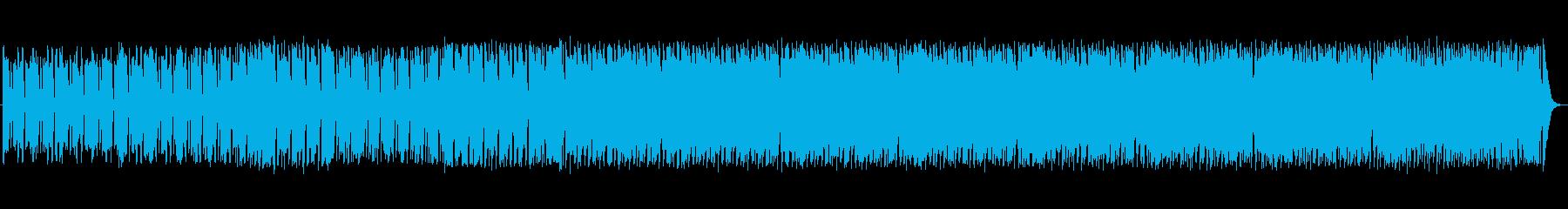 Jazzっぽい雰囲気の5拍子の曲です。の再生済みの波形