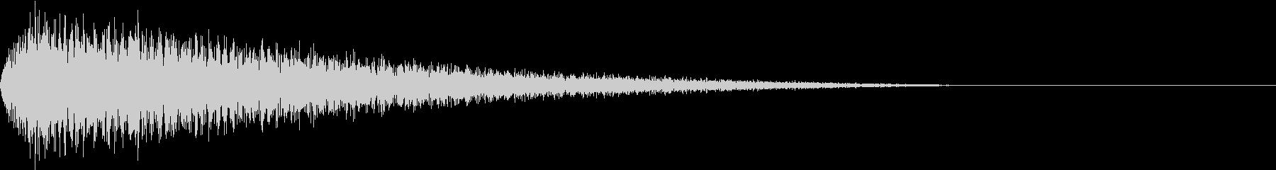 DTM Snare 10 オリジナル音源の未再生の波形