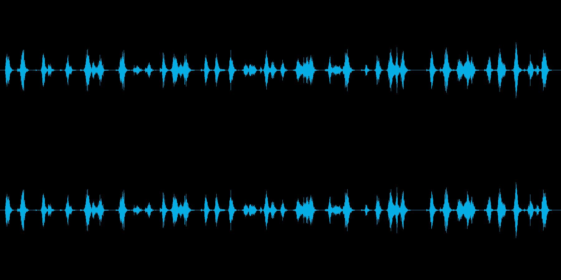 【ボールペン01-02(書く)】の再生済みの波形
