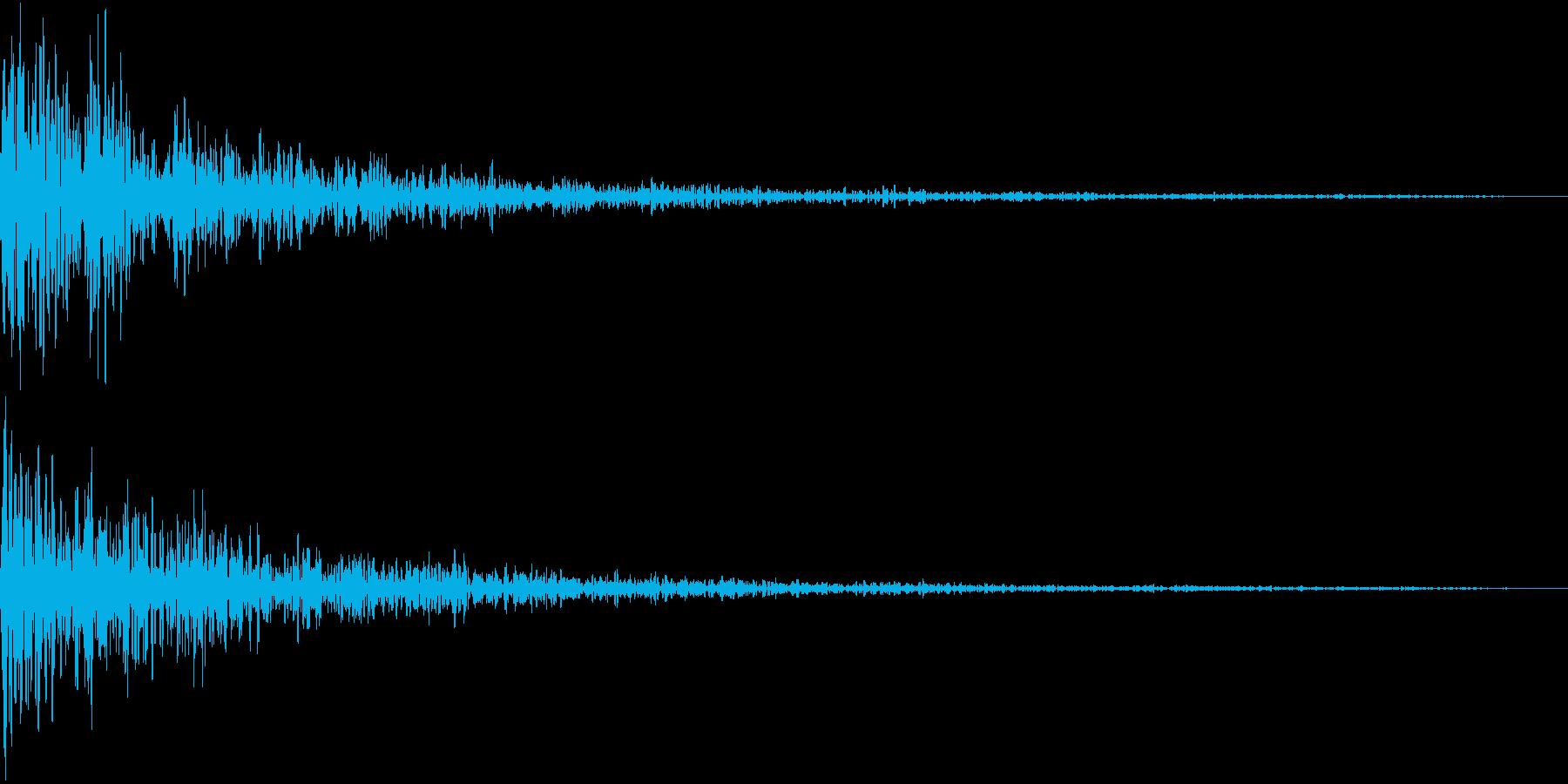 TVFX ホラーな単音SE 恐怖 戦慄の再生済みの波形