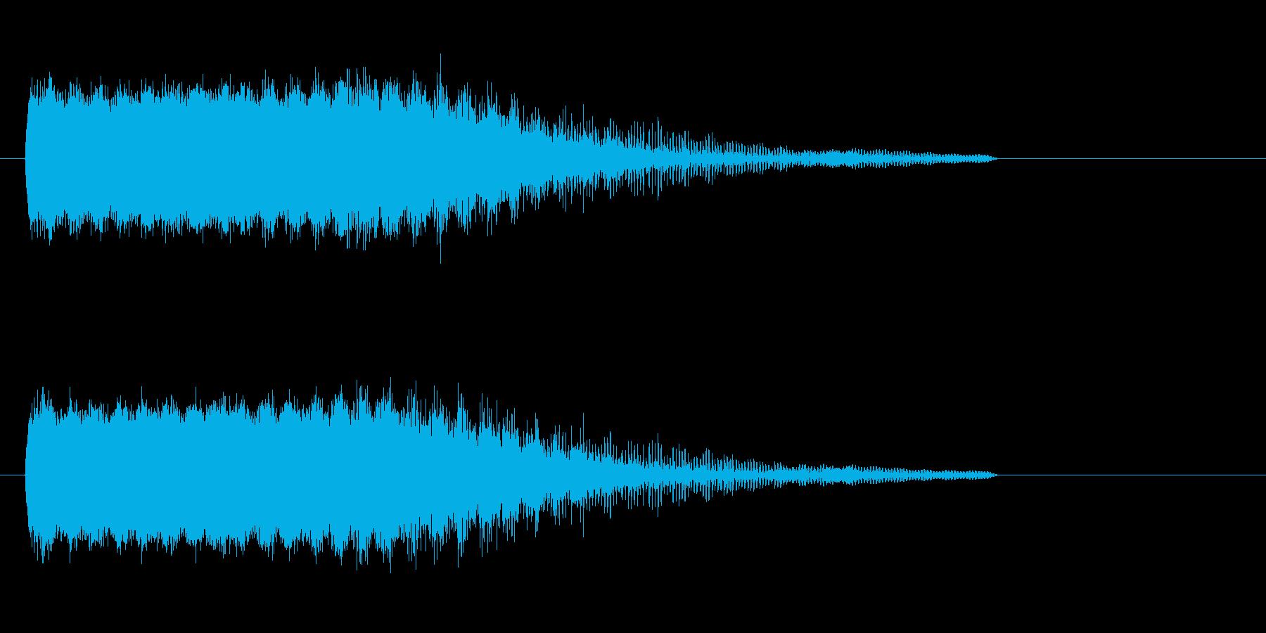 溶解_崩壊の再生済みの波形