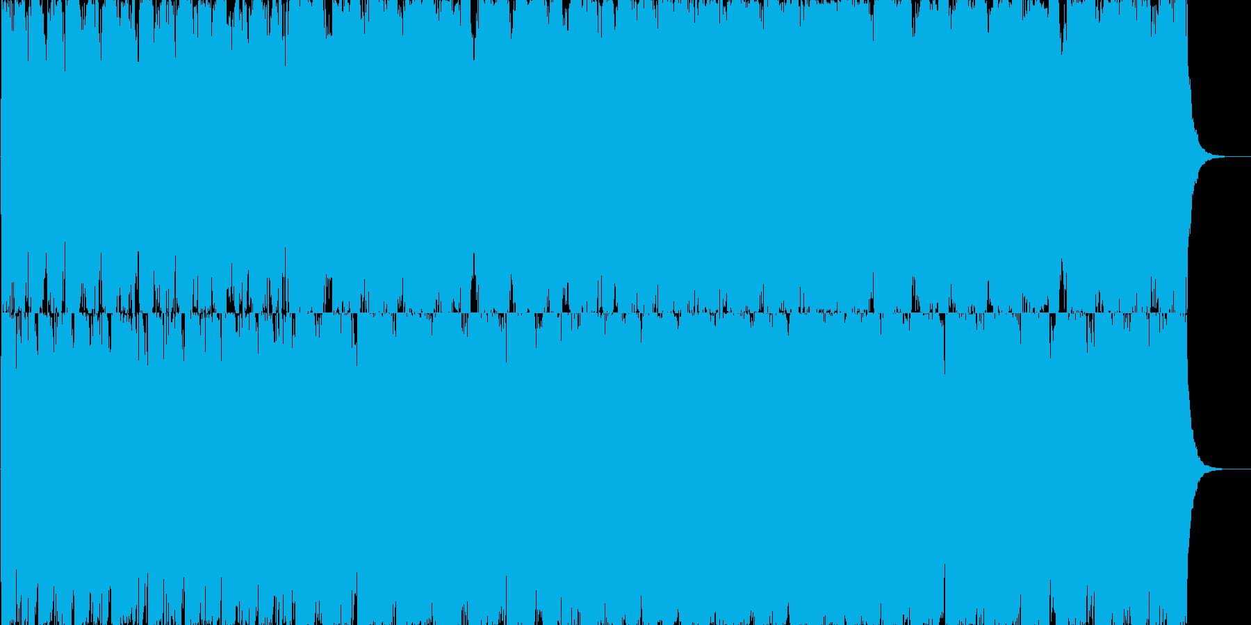 ドラマチックで感動的なポップスの再生済みの波形