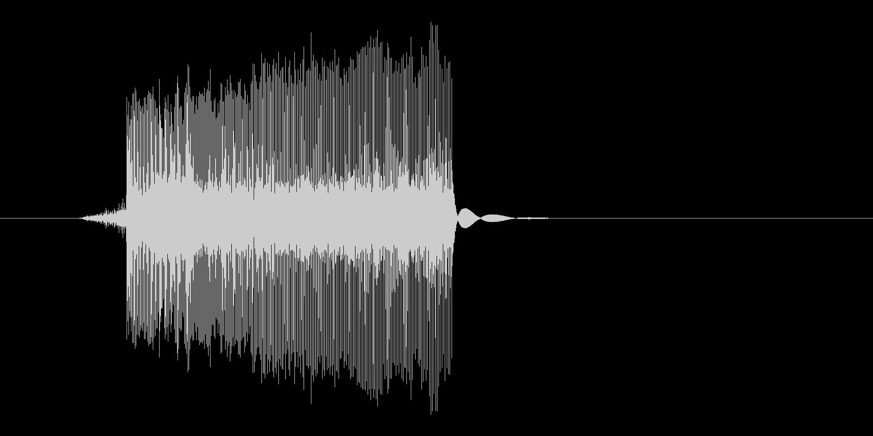 ゲーム(ファミコン風)レーザー音_017の未再生の波形