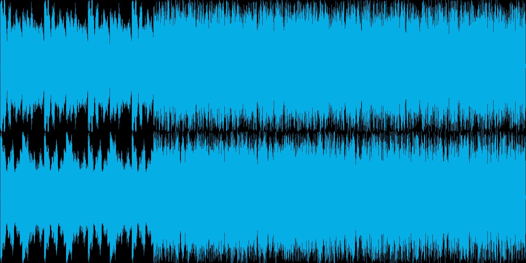 近未来をイメージしたシンセ系の再生済みの波形