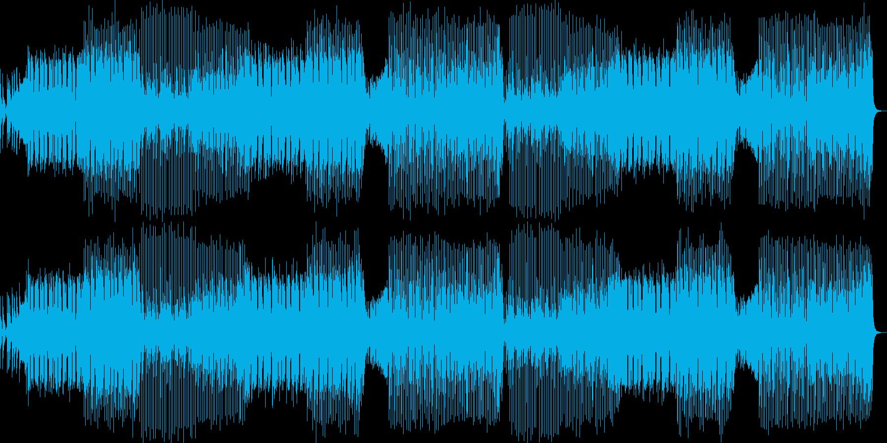 クラブ系ダンスミュージック/EDMの再生済みの波形