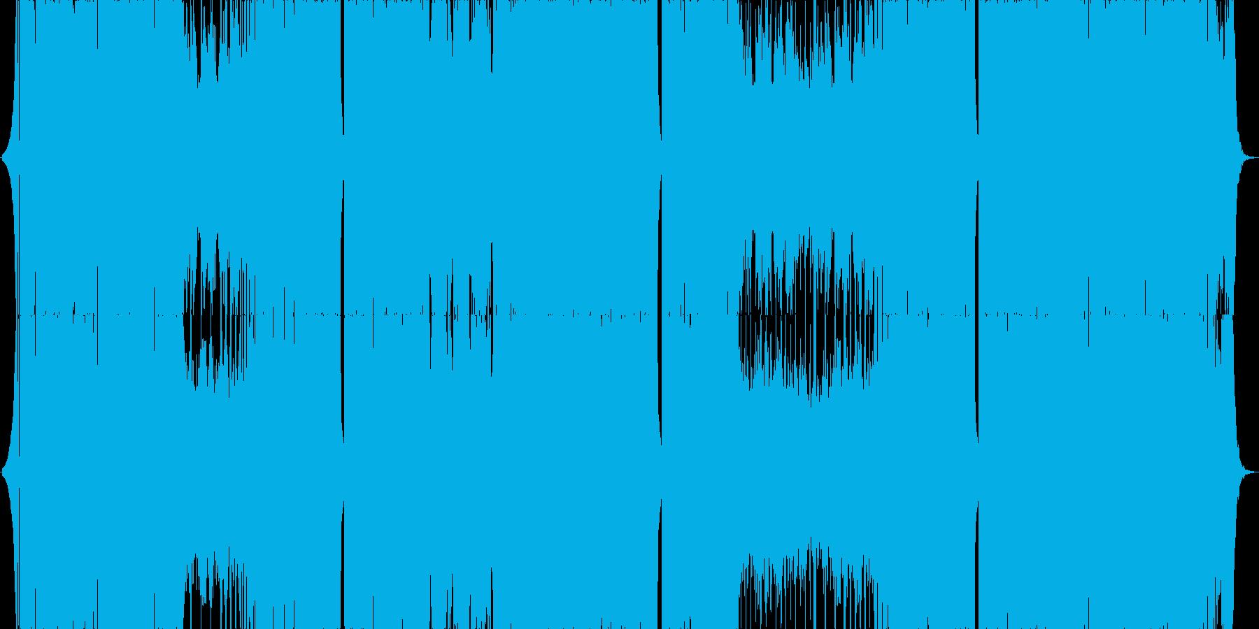 切ない雰囲気のブロステップの再生済みの波形