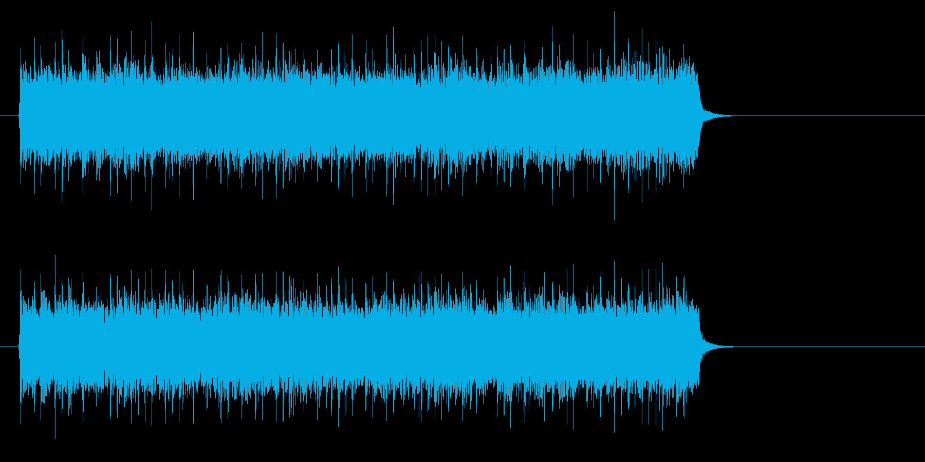 アメリカンロック/ポップ(サビ)の再生済みの波形