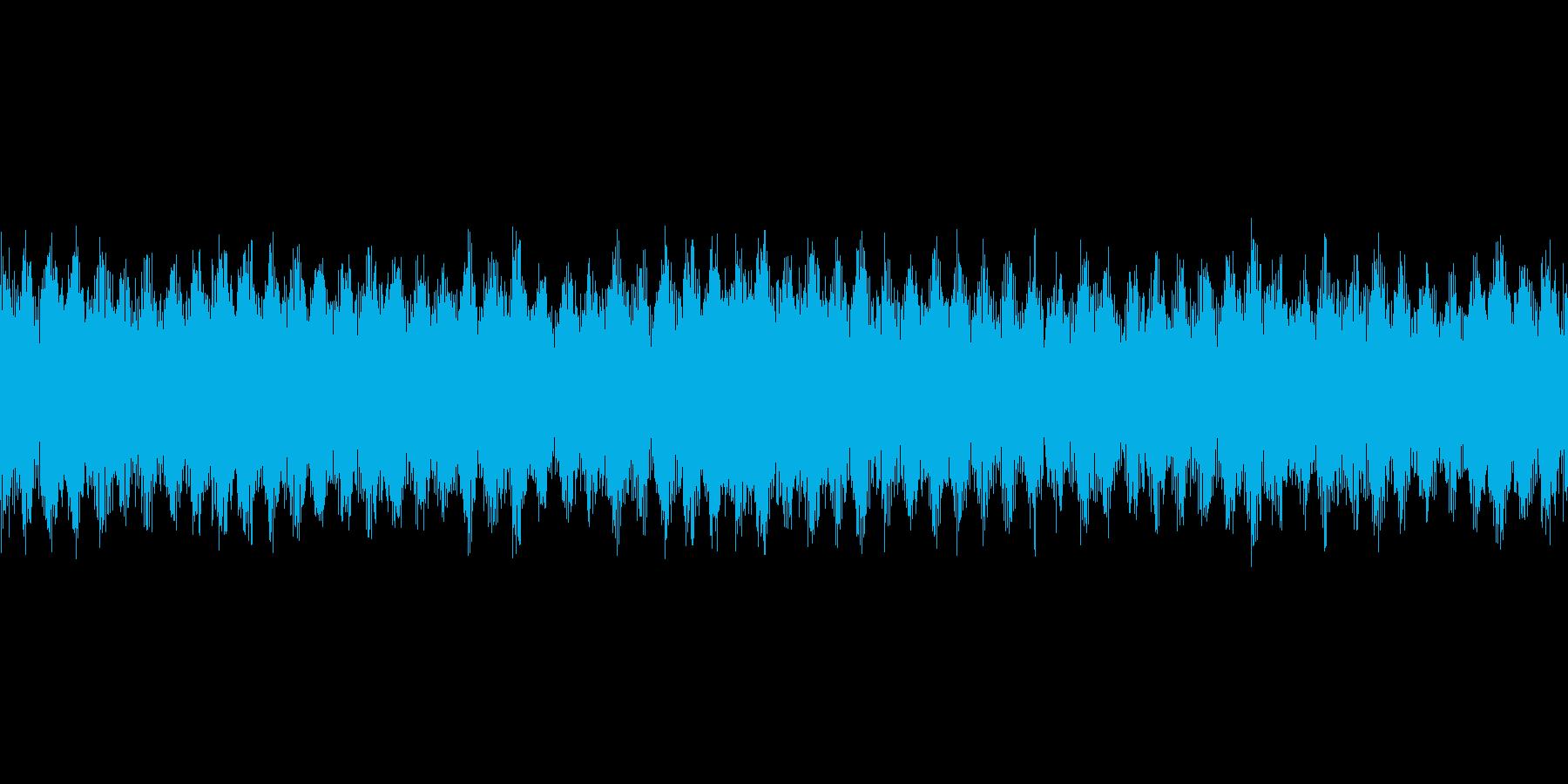 【扇風機 動作音01-4L】の再生済みの波形