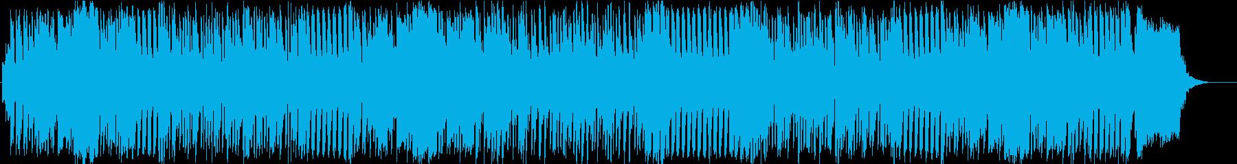 ほのぼの明るい子供小動物向けBGMの再生済みの波形